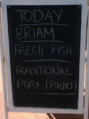 Frecher Fisch